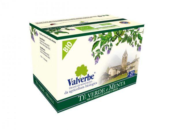 Зелен чай & сладка мента