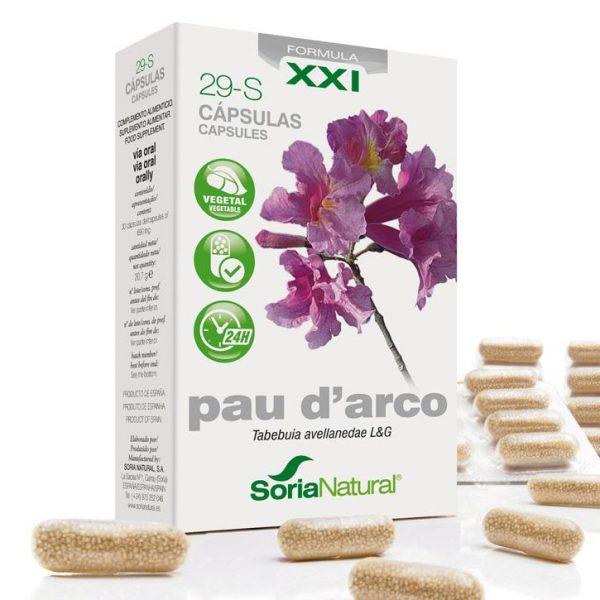 Пау Д'Арко екстракт капсули - Сориа Натурал